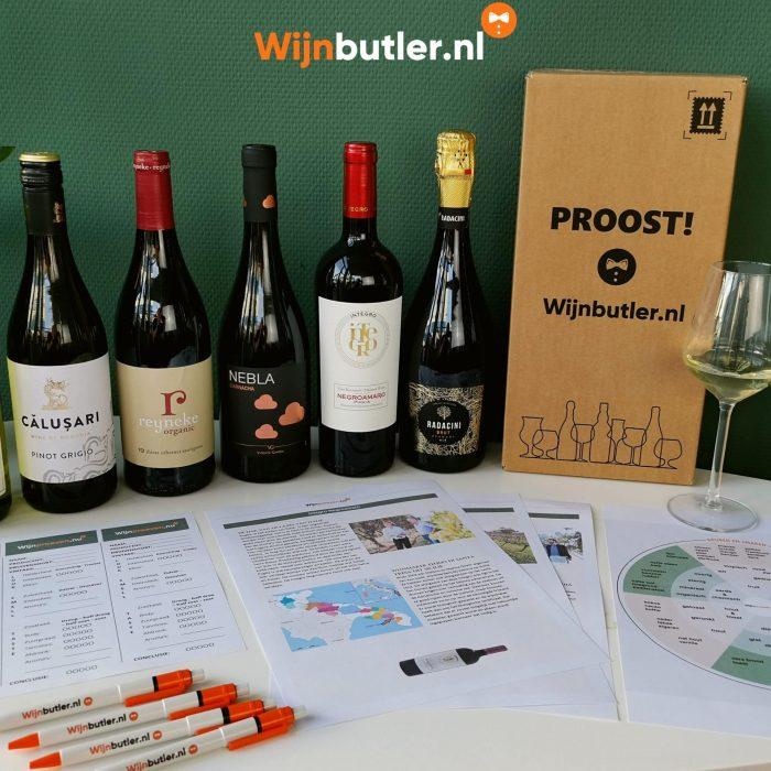 Wereldreis Wijnproeverijbox 6 flessen