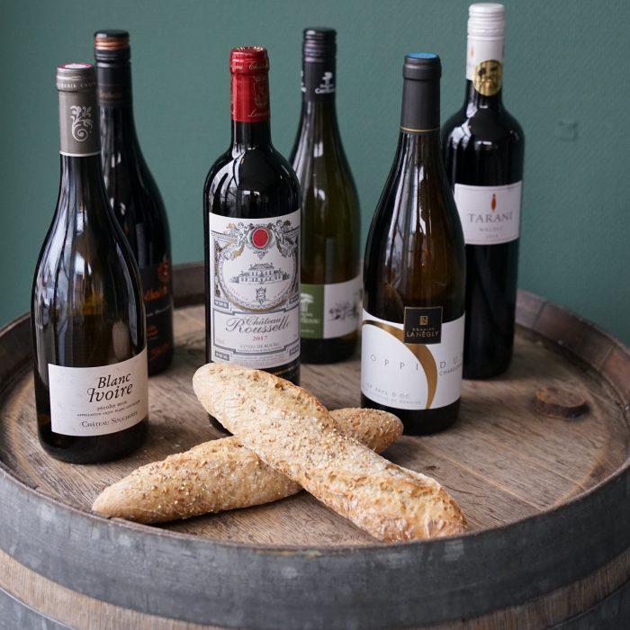 wijnproeverij pakket frankrijk franse wijn